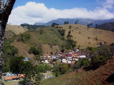 Vista panorâmica da vila da Maromba