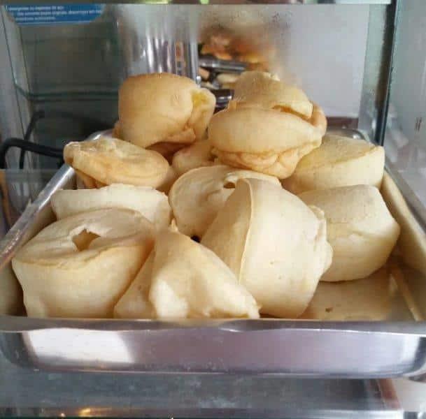 Pão de queijo na forma