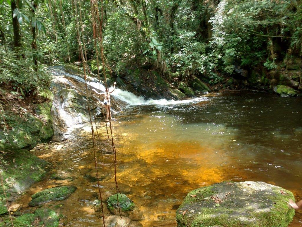 Cachoeira da Pousada das fadas