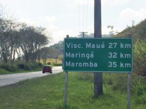 Subindo a serra para Visconde de Mauá