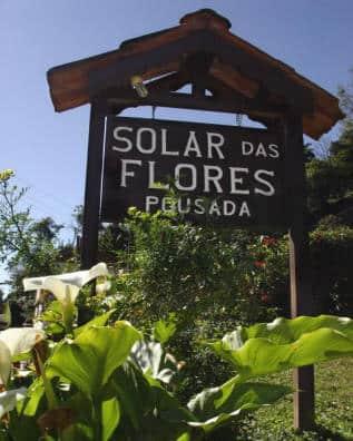Placa da Solar das Flores