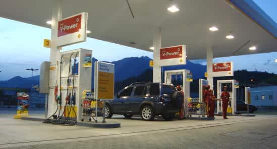 Posto de gasolina na Estrada para Visconde de Mauá