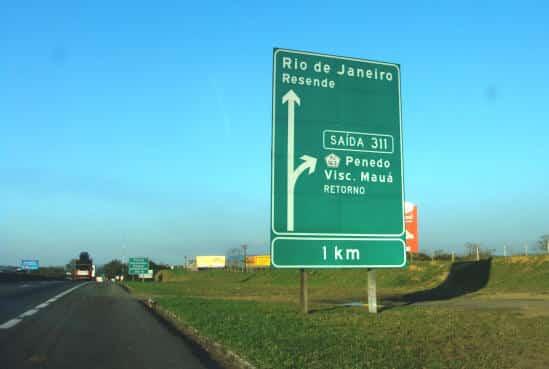 Rodovia Dutra km 311 em como chegar em Visconde de Maua