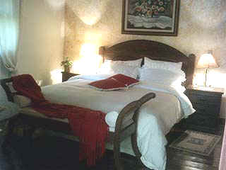 cama de casal Pousada recanto Pinheirão