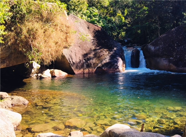 Poção da Maromba e sua piscina natural
