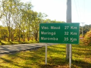 Placa de Visconde de Mauá