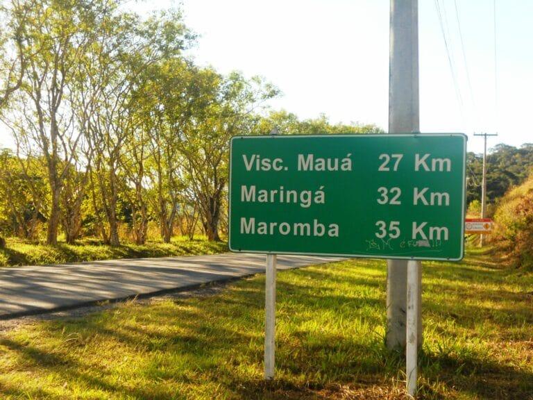 Placa de Visconde de Mauá