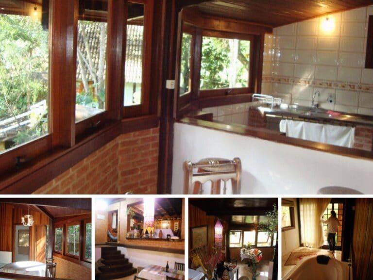 Copa cozinha do chalé em Visconde de Mauá