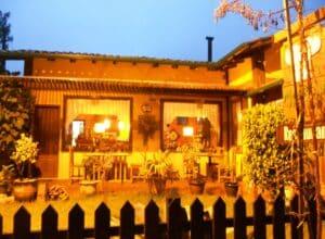 Jardim do restaurante Mauro Junior