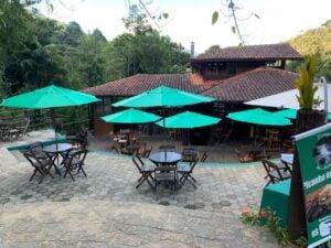 Bar e restaurante do Escorrega em Visconde de Mauá