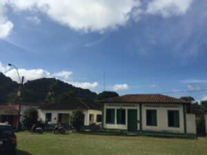 Casas da época colonial em Visconde de Mauá