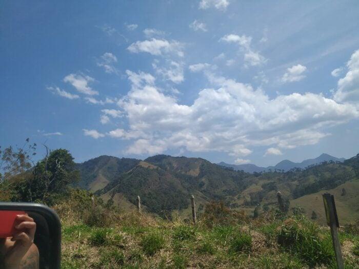 Montanhas da Serra Da Mantiqueira em visconde de maua