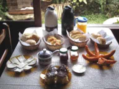 Café da Pousada em Visconde de Mauá