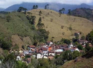 Vista panoramica da vila da Maromba