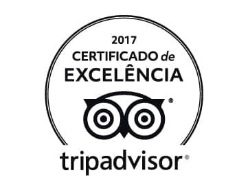Prêmio do TripAdvisor melhores Pousadas em Visconde de Mauá